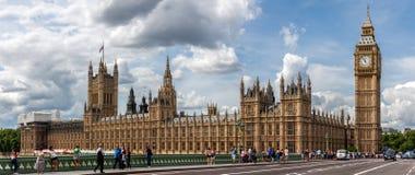 Der Palast von Westmister in London Stockfotos