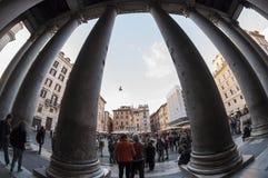 Der Pantheon in Rom Lizenzfreie Stockfotos