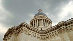 Der Pantheon in der Stadt von Paris, Frankreich stockbild