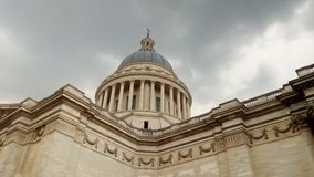 Der Pantheon in der Stadt von Paris, Frankreich lizenzfreies stockfoto