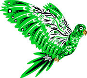 Der Papagei, Vogel, Tier, Lizenzfreie Stockbilder