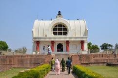 Der Parinirvana-Tempel in Kushinagar, Indien lizenzfreies stockfoto