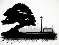Der Park. Lizenzfreie Stockbilder