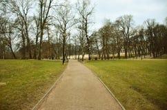 Der Park des königlichen Palastes Stockbilder