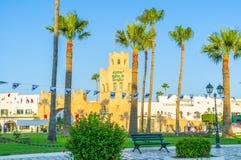 Der Park von Al Kantyaoui Lizenzfreies Stockfoto