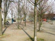 Der Park vor deutschem Kanzleramt, Berlin Lizenzfreie Stockfotografie
