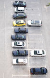 Der Parkplatz Stockfotos