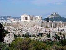 Der Parthenon, Athen stockfoto