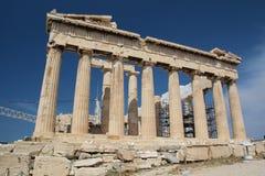Der Parthenon, die Akropolis von Athen Stockfotos