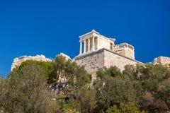 Der Parthenon-Tempel an der Akropolise von Athen, Griechenland Stockfotografie