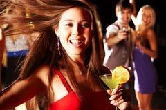 An der Party Stockbild