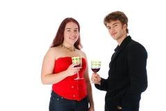 An der Party Lizenzfreie Stockfotografie
