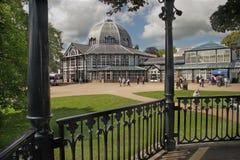 Der Pavillon bei Buxton Stockfotos
