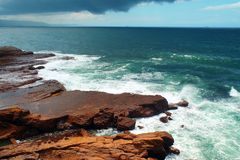 Der Pazifische Ozean Lizenzfreie Stockfotografie