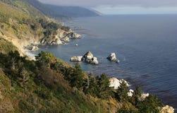 Der Pazifische Ozean, Kalifornien, USA Lizenzfreie Stockfotos