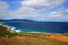 Der Pazifische Ozean taiwan3 Lizenzfreies Stockfoto