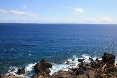 Der Pazifische Ozean taiwan1 Lizenzfreies Stockfoto