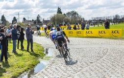 Der Peloton - Paris Roubaix 2016 Stockbilder