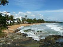 Der perfekte Platz für einen Feiertag in Sri Lanka Lizenzfreie Stockfotografie