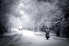 Der perfekte Tag für eine Motorradfahrt Stockbilder