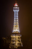 Der PetÅ™Ãn-Ausblick-Turm stockbild