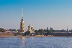 Der Peter und Paul Fortress, St. Petersburg, Russland Lizenzfreie Stockfotografie