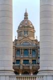 Der Pfeil de Catalunya Museu Nacional Stockfotos
