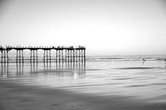 Der Pier Stockfoto