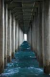 Der Pier Stockfotografie