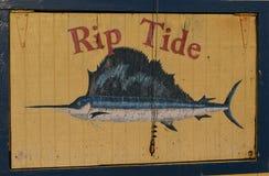 Der Pier auf Tybee Island lizenzfreie stockbilder