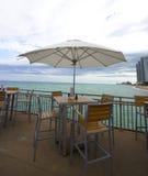 Der Pier an den sunnyisles, Florida Stockfotos