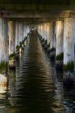 Der Pier in Sopot - Tunnel lizenzfreies stockfoto