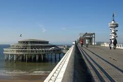 Der Pier von Scheveningen, Stadt Den Haag stockfotos