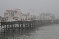 Der Pier von Worthing, England lizenzfreie stockfotografie