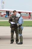 Der Pilot Lizenzfreie Stockbilder