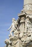 Der Platz Castellane in Marseille in Frankreich Lizenzfreie Stockbilder