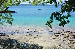 Der Playa BLANCA-Strand in der Halbinsel Papagayo, Costa Rica stockbilder