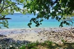 Der Playa BLANCA-Strand in der Halbinsel Papagayo, Costa Rica stockbild