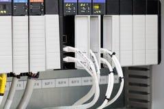 Der PLC-Computer stockfotografie