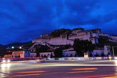 Der Potala Palast Lizenzfreies Stockfoto