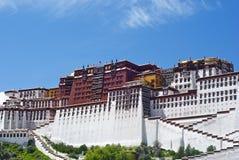 Der Potala Palast - rechte Ansicht Stockfoto
