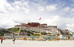 Der Potala Palast in Tibet Lizenzfreies Stockfoto