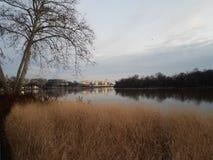 Der Potomac und Kennedy Center im Washington DC lizenzfreies stockfoto