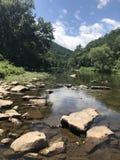 Der Potomac in West Virginia stockbilder