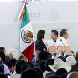 Der Präsident von Mexiko, Enrique Peña Nieto Lizenzfreie Stockfotos