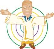 Der Prediger-Mann Lizenzfreie Stockfotos