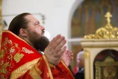 Der Priester lizenzfreies stockbild
