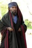 Der Priester von der äthiopischen orthodoxen Kirche Lizenzfreies Stockfoto