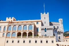 Der Prinz Palace von Monaco stockfoto