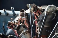 Der Propeller eines Weltkriegflugzeuges Lizenzfreies Stockfoto